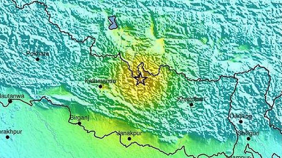 Gráfico facilitado por el organismo geológico estadounidense US Geological Survey (USGS)