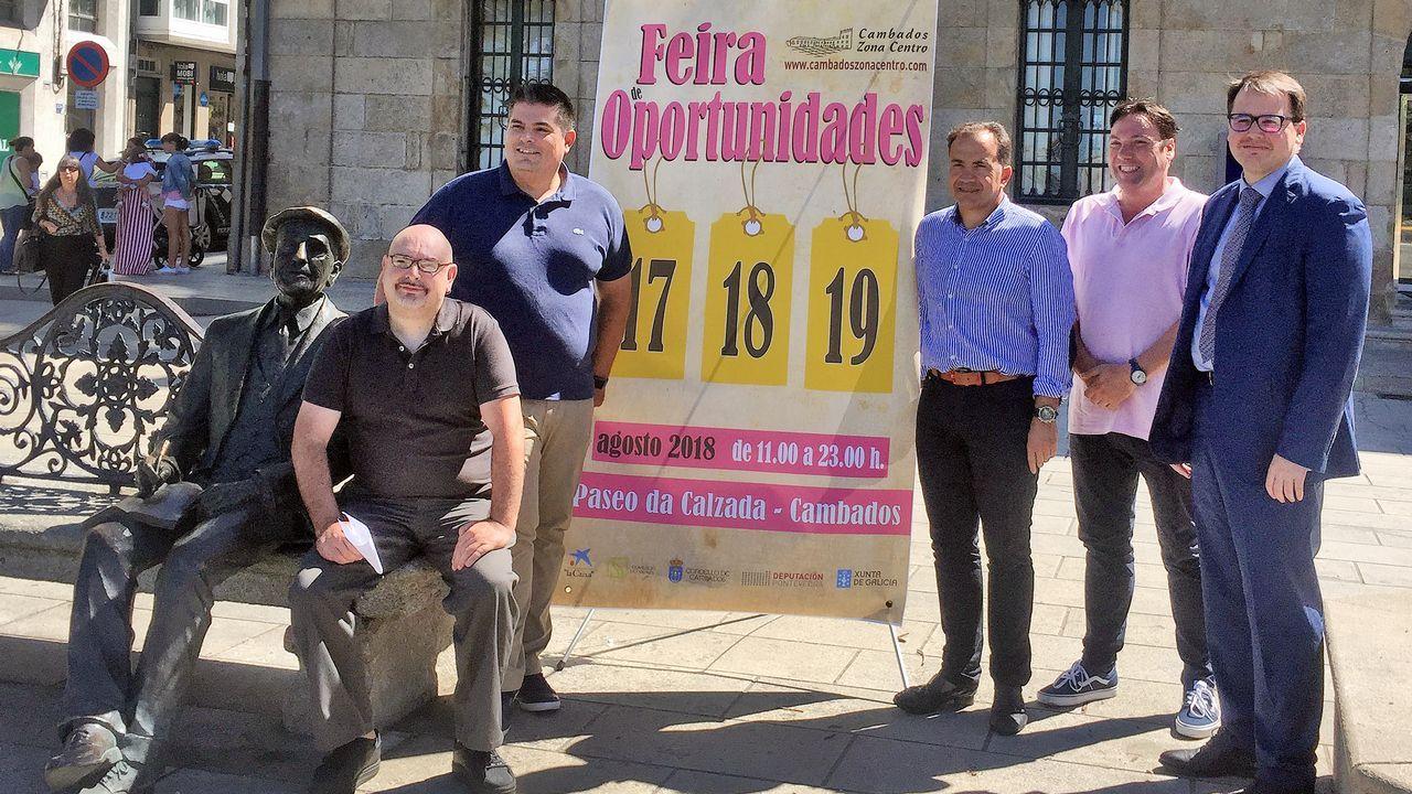 Homenaje a Borobó en Pontecesures