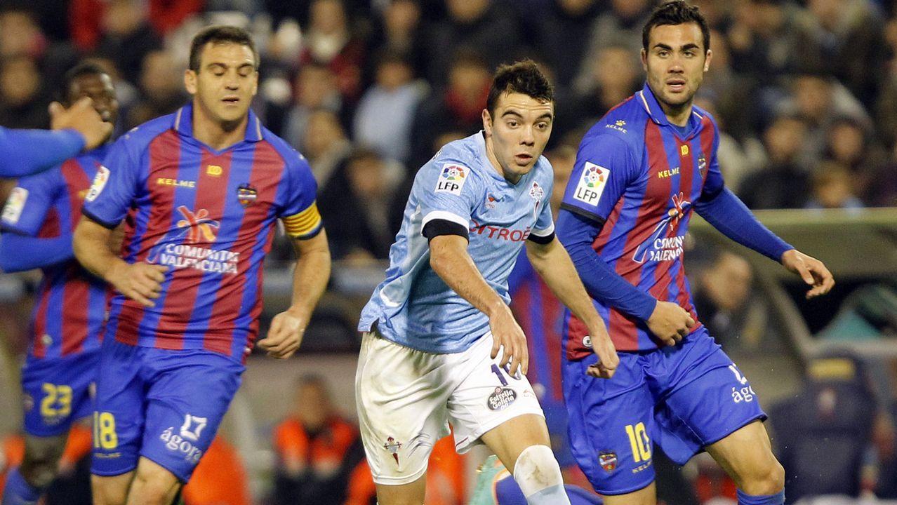 131 - Celta-Levante (1-1) el 2 de diciembre del 2012