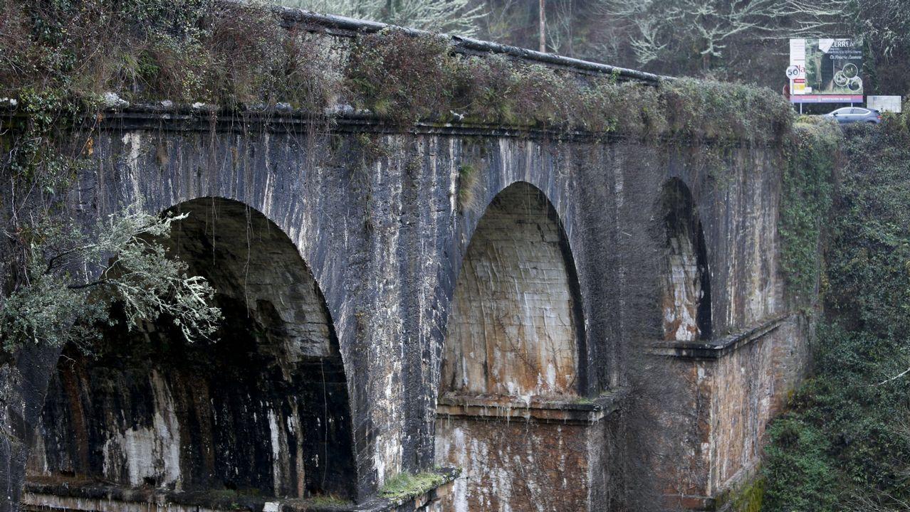 A Ponte de Cruzul, en una imagen de archivo