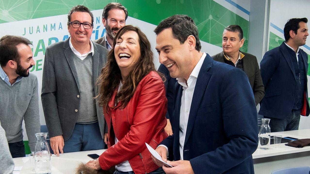 «¡La república no existe, idiota!».Moreno pidió este viernes a Ciudadanos y a Vox que abandonen tacticismos para no frustrar el cambio