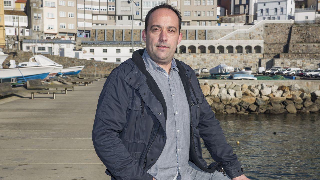 | EFE.David Alonso, durante su despedida como concejal