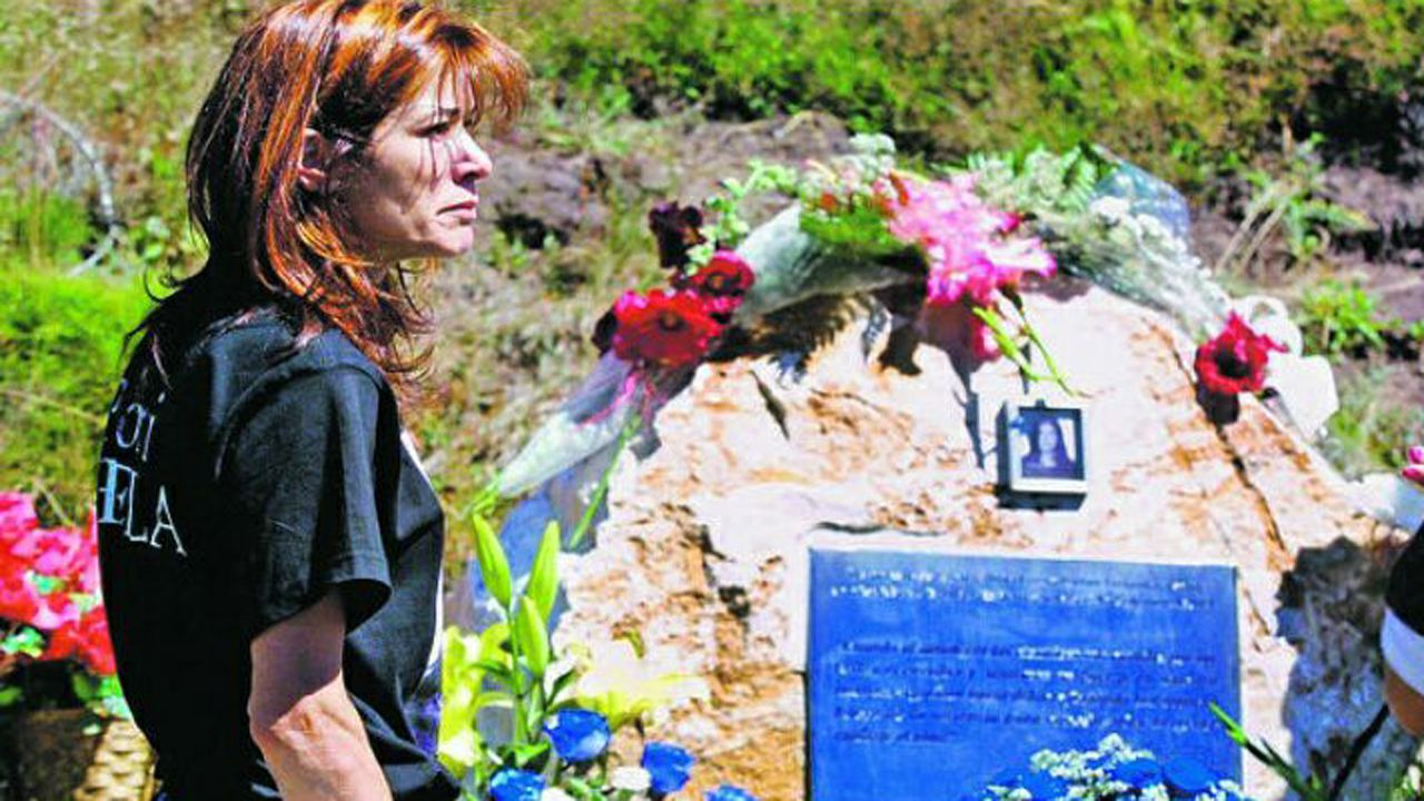 selectividad, pau.Julia Fernández, madre de Sheila Barrero