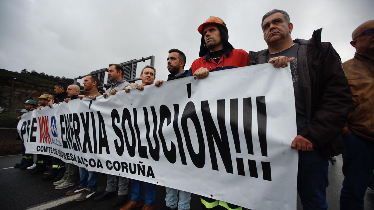Conmoción entre los trabajadores de Alcoa en A Coruña