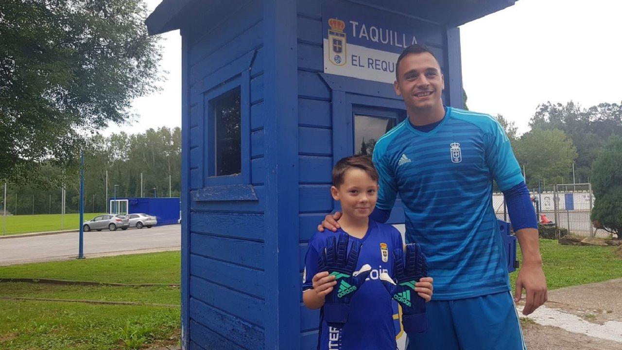 .Alfonso Herrero y Alejandro en El Requexón