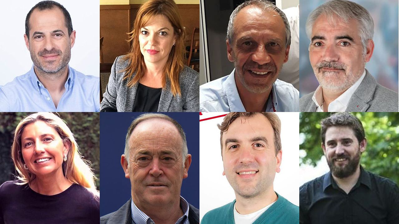 Los candidatos a la alcaldía de Siero