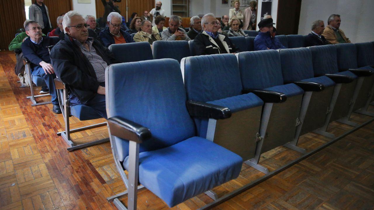 Los jubilados celebran el Carmen protestando en el ISM