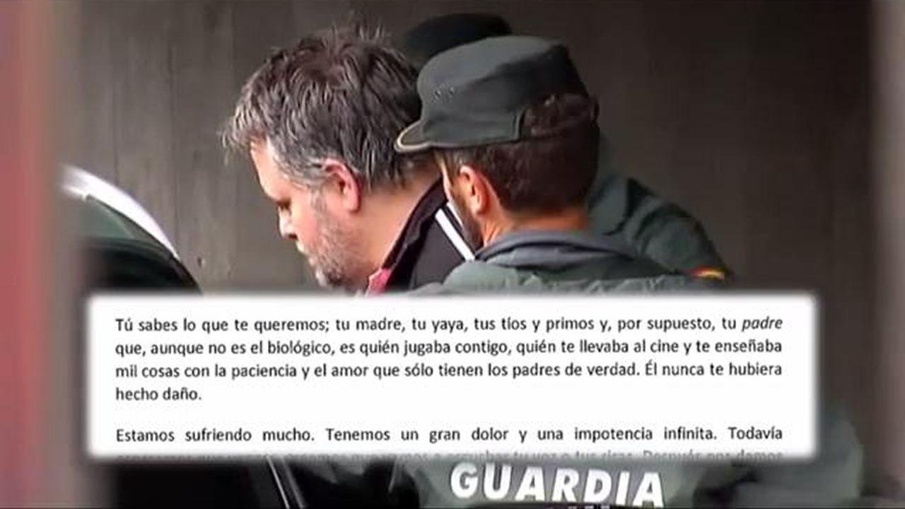 La emotiva carta de despedida del abuelo de Javier Curto