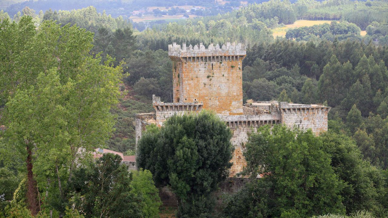 Castillo de Pambre, Palas de Rei.
