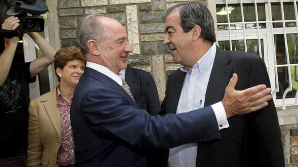 Francisco Álvarez-Cascos y Rodrigo Rato