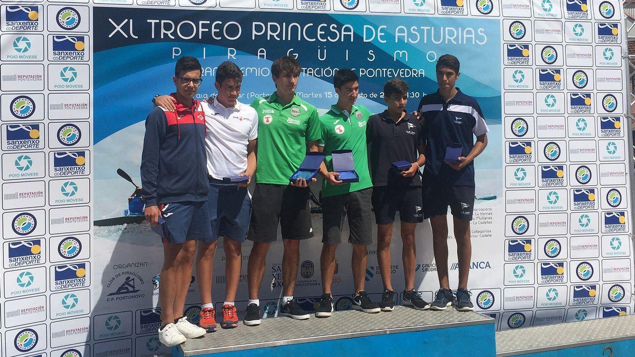 Trofeo Princesa de Asturias de piragüismo.