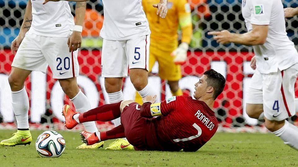 La angustia de Cristiano Ronaldo