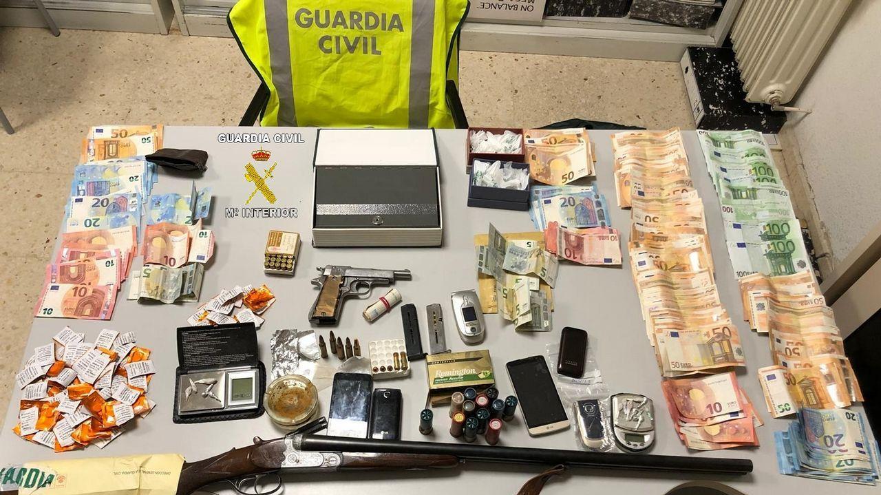 Cae una banda que traficaba con heroína en Sarria