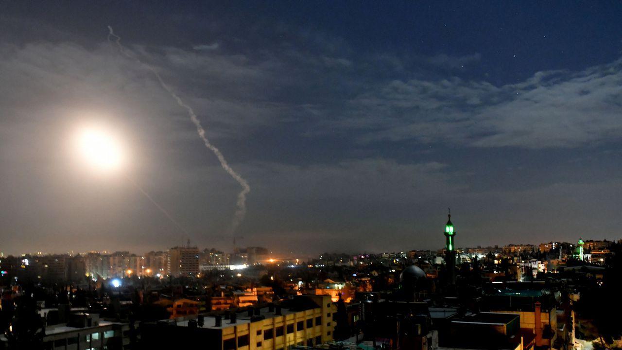 Los bombardeos volvieron al cielo de Damasco