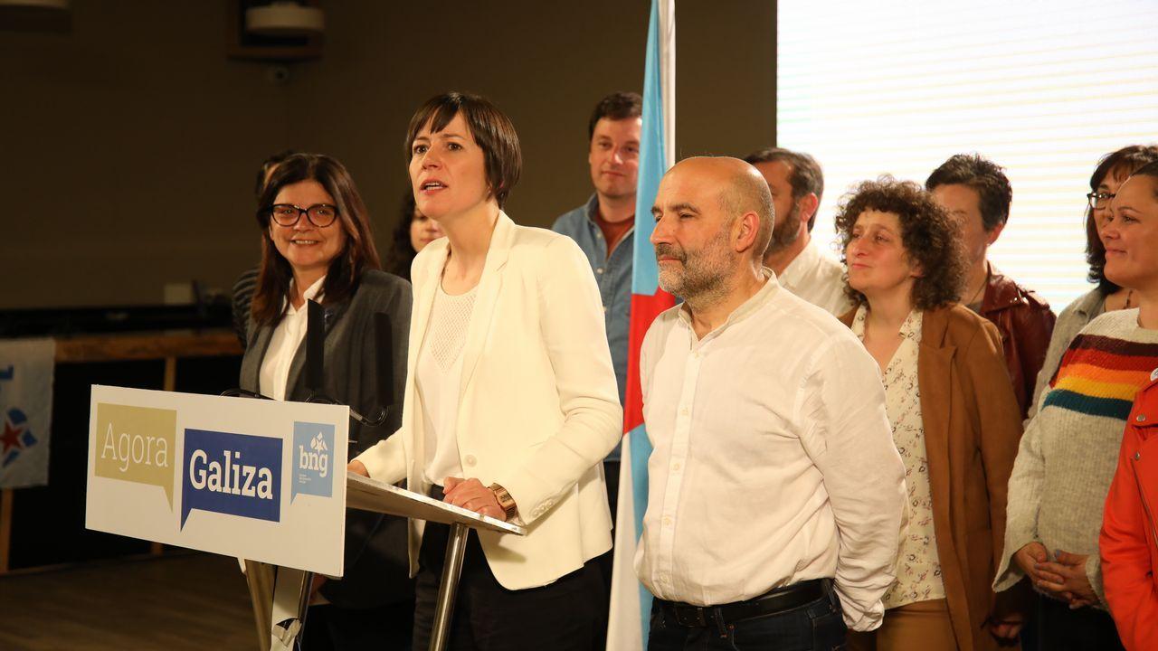 Derechos y empleo digno el Primero de Mayo.El primer ministro de Portugal, António Costa