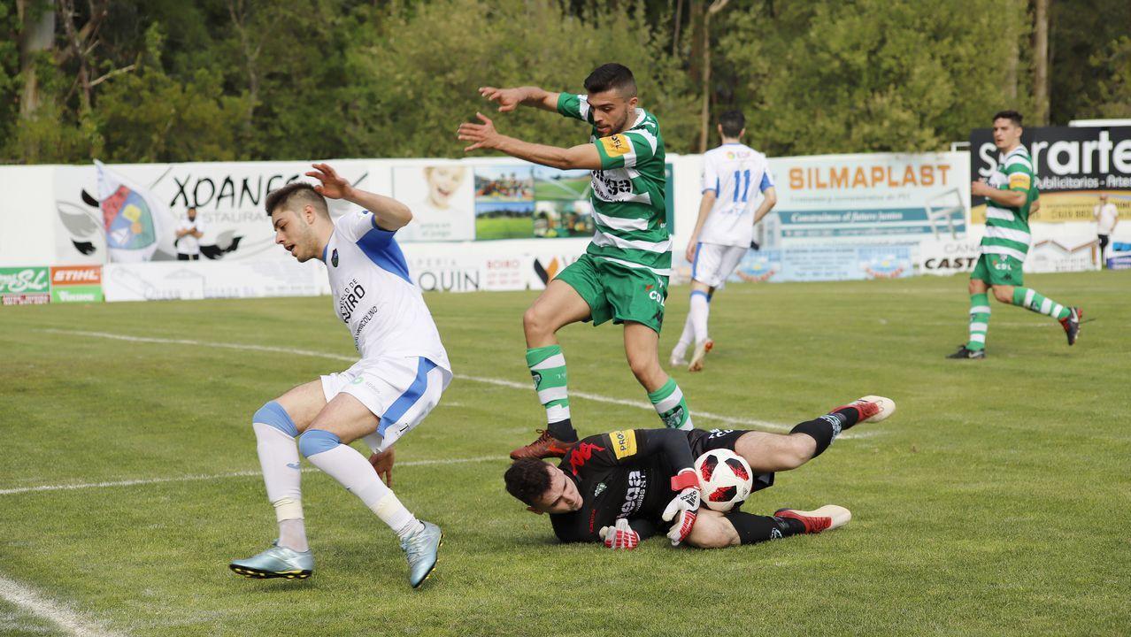 ¡Mira aquí las imágenes del partido de tercera entre el Boiro y el Paiosaco!