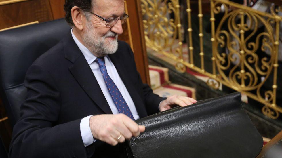 ¿Otra vez Rajoy en plasma?.Luis Bárcenas, a la salida de la Audiencia Nacional