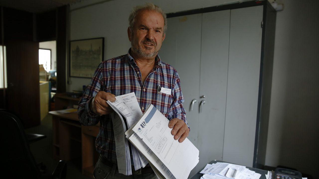 Pacientes en el HUCA.Faustino Blanco