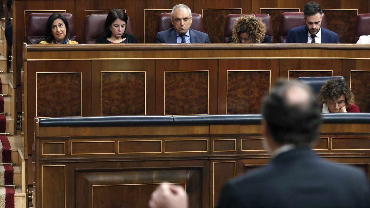 Pedro Sánchez y Miquel Iceta en una foto de archivo