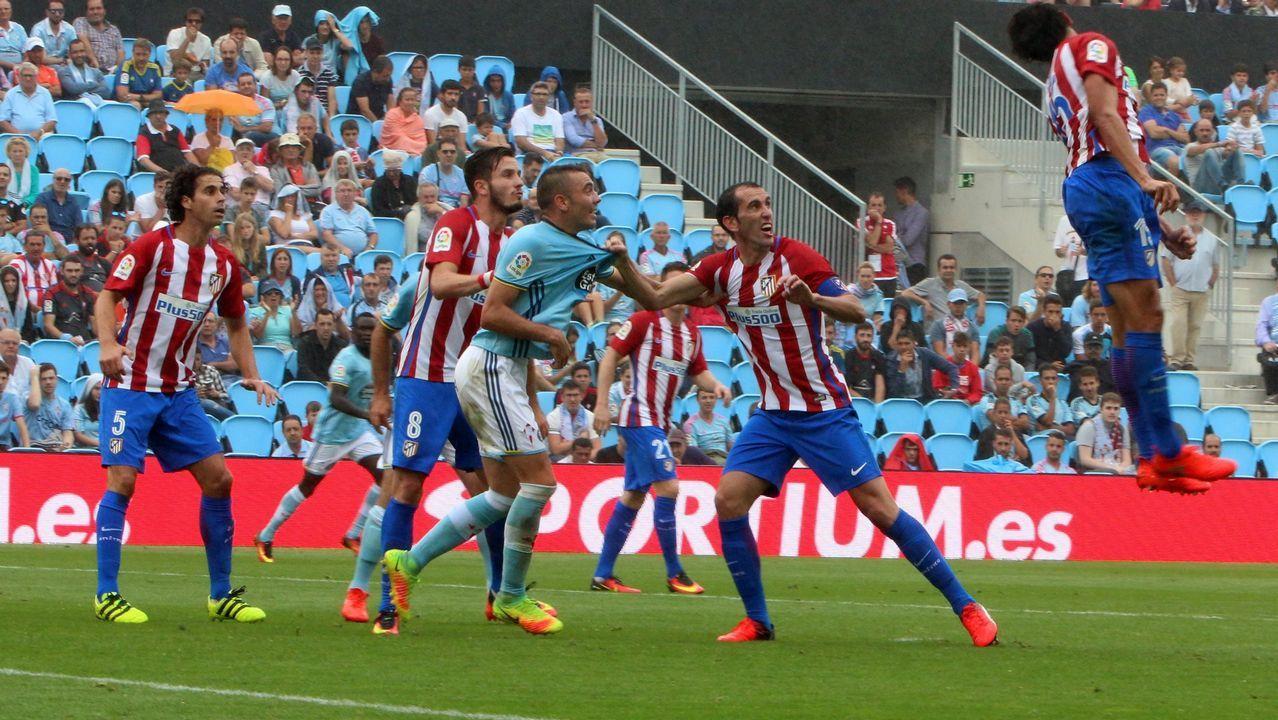 196 - Celta-Atlético (0-4) de Primera el 10 de septiembre del 2016