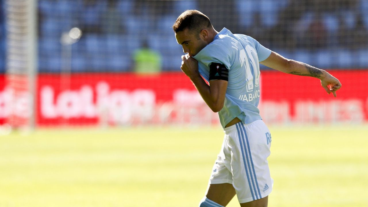 El Celta - Athletic en imágenes.Celta-Valladolid (3-3) de Primera el 22 de septiembre del 2018. Doblete de Aspas