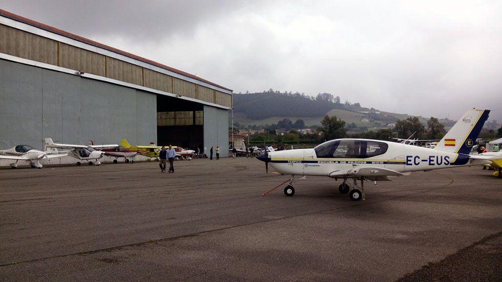 Jornadas de puertas abiertas del Aeródromo de La Morgal, en 2015.Jornadas de puertas abiertas del Aeródromo de La Morgal, en 2015