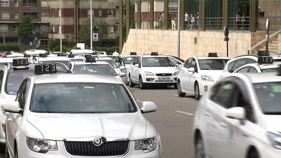 Taxis en Oviedo