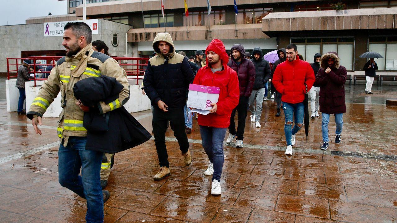 Opositores a bombero en Vigo presentan alegaciones ante el Concello por irregularidades en el examen