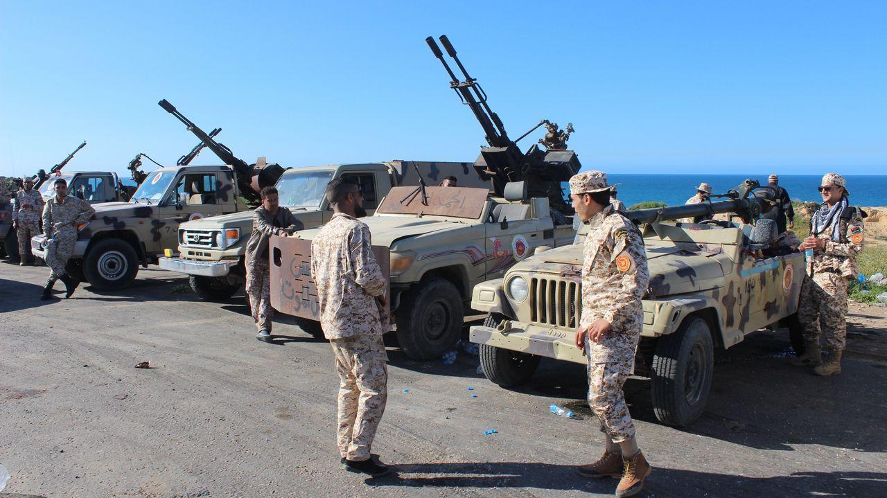 Las milicias de Misrata llegaron en auxilio del Gobierno de unidad apoyado por la ONU