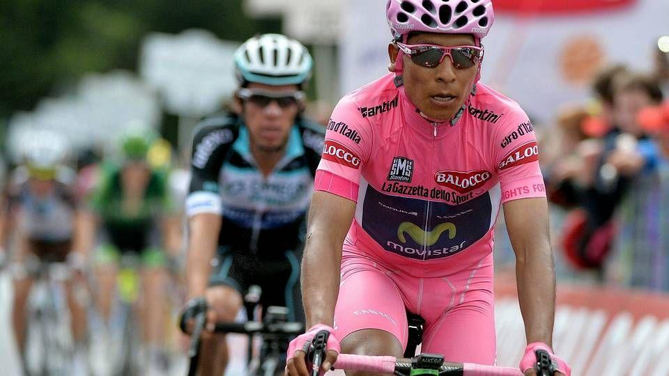 Nairo Quintana, en el pasado Giro