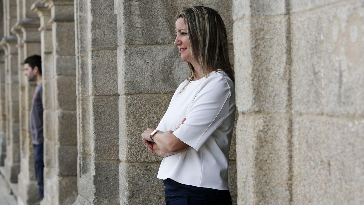 «Quero seguir de alcaldesa porque a ilusión dunha persoa cando inicia un proxecto é acabalo».