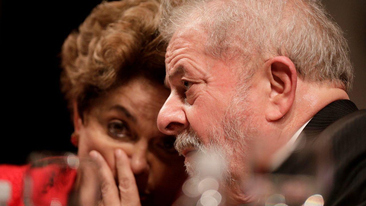 Lula pudo salir de prisión en marzo para asitir al funeral de su nieto Arthur de 7 años