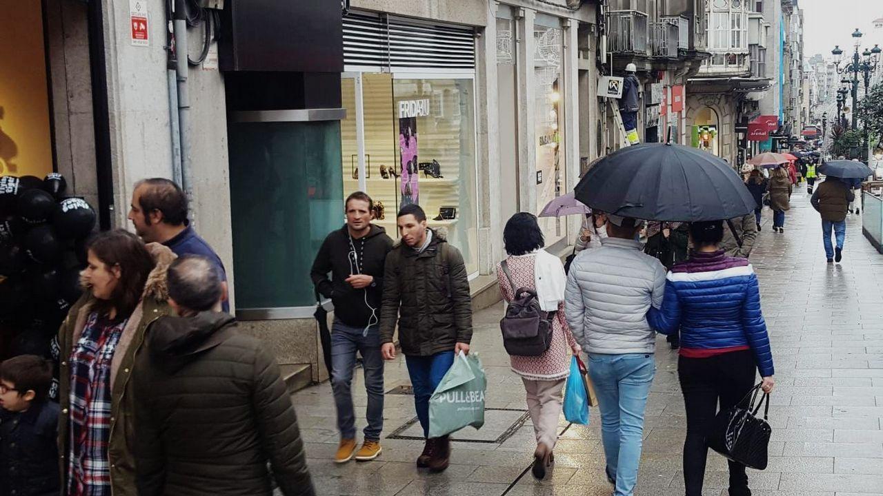 El regalo más grande de la Navidad de Vigo.Álvarez ha estado esta semana en Lugo para apoyar a la exdelegada de UGT en Sargadelos