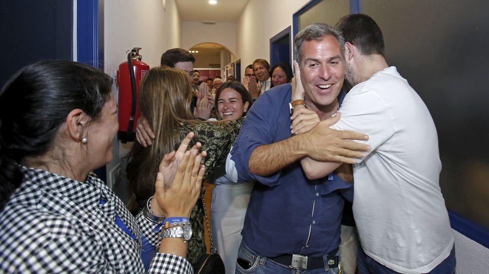 El PP fue el partido que más subió en votos en la comarca de Pontevedra