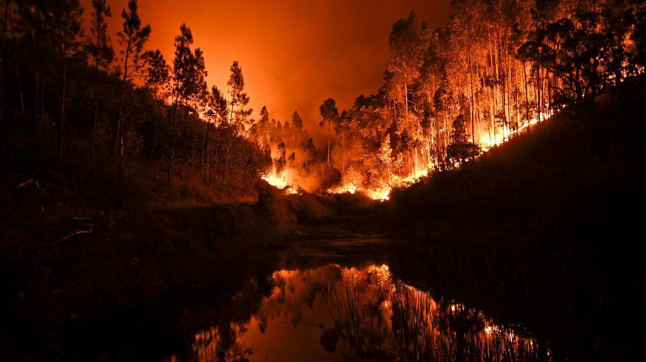 Las fotos que muestran los estragos de los incendios en Galicia