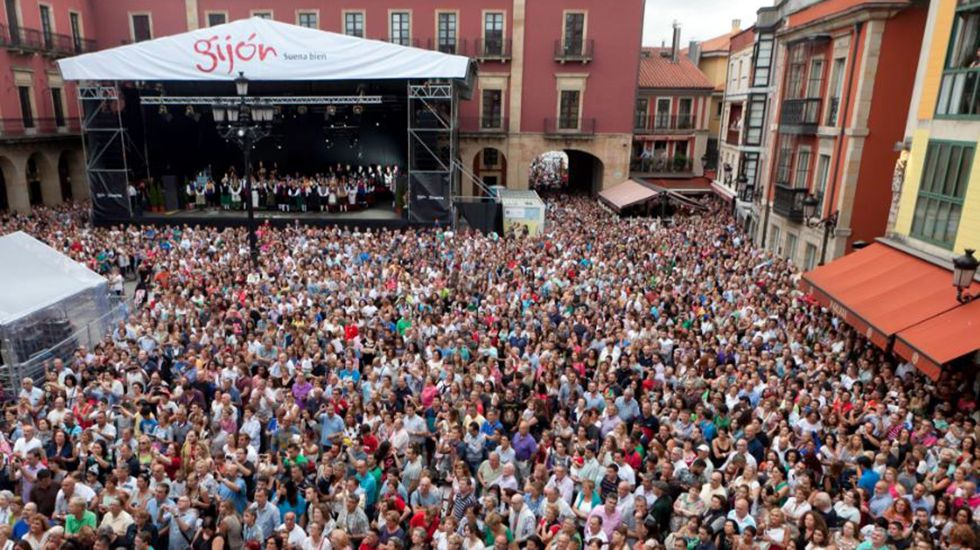 El legado de Terele Pávez.Pregón de la Semana Grande de Gijón