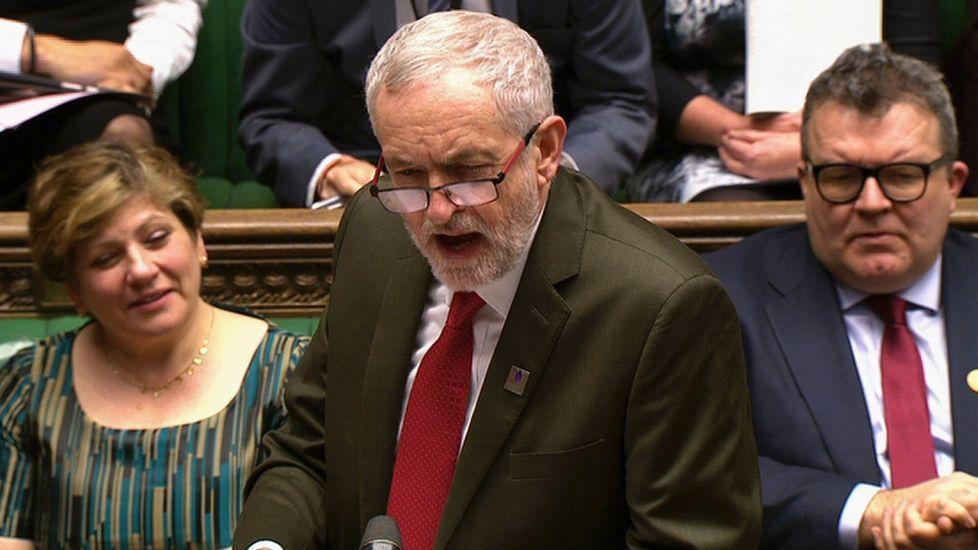 Jeremy Corbyn, en el Parlamento británico