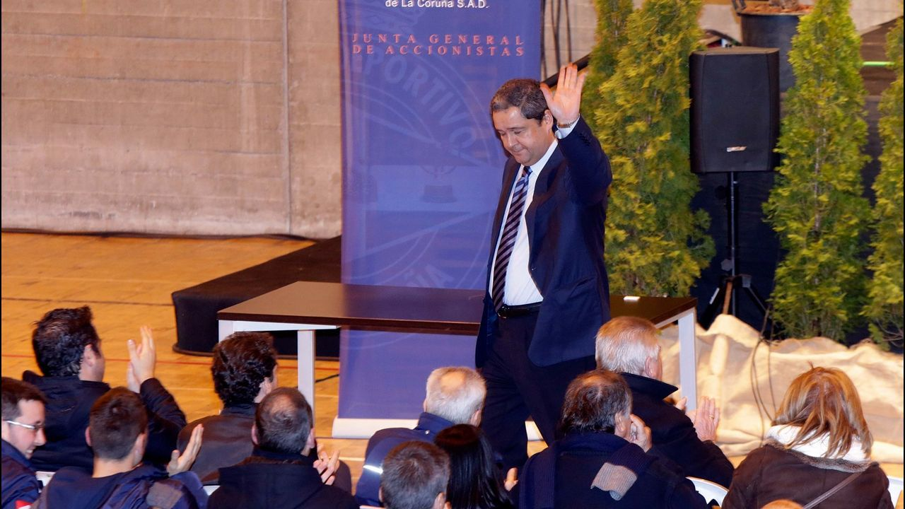 Ascenso y caída de Tino Fernández.El 21 de enero del 2014 Tino Fernández se proclamaba presidente del Deportivo y dejaba atrás la era Lendoiro
