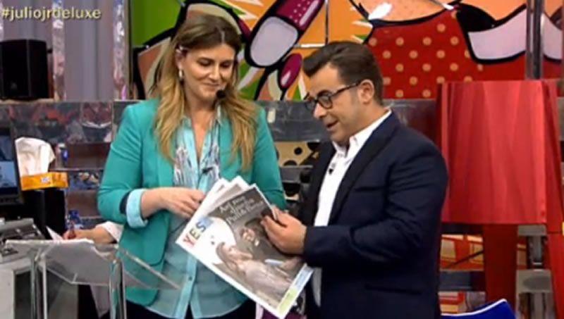 Carlota Corredera presenta con Jorge Javier Vázquez la revista «YES»
