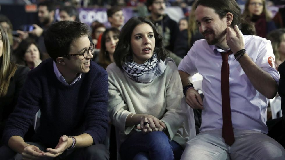 Primeras palabras de Errejón e Iglesias tras los cambios en Podemos