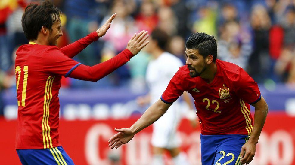 La victoria de España sobre Corea, en fotos.