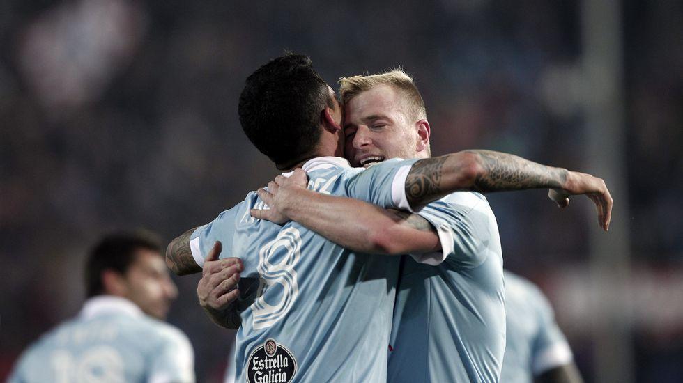 Atlético de Madrid - Celta, en imágenes
