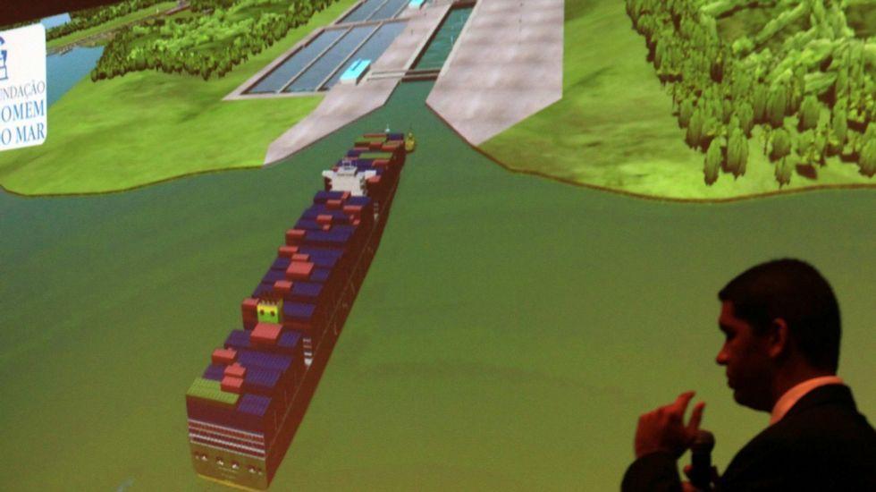 28.000 barcos al año en solo 30 metros de ancho.En primer término, los terrenos donde se ubicará la estación de autobuses de la intermodal.