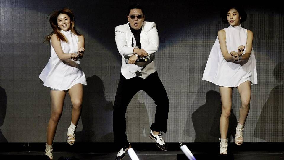 Psy busca un nuevo pelotazo con Gentleman