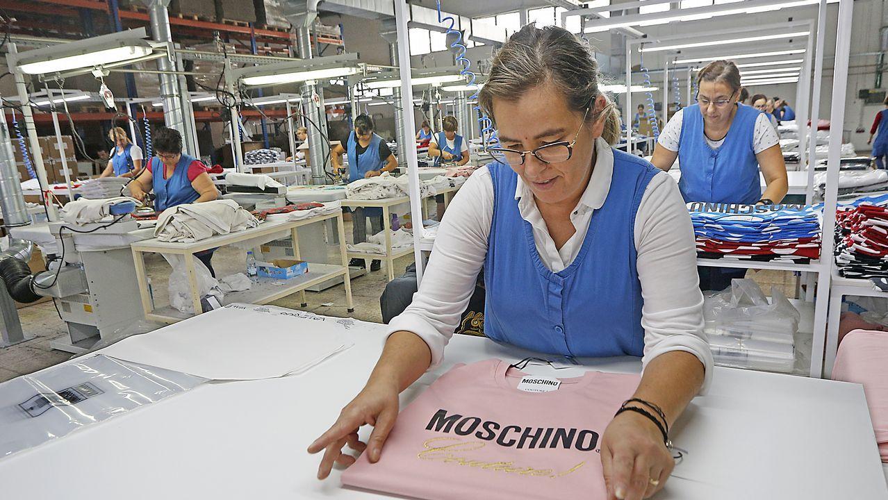 Las claves del gigante textil portugués.La policia italiana, en una imagen de archivo