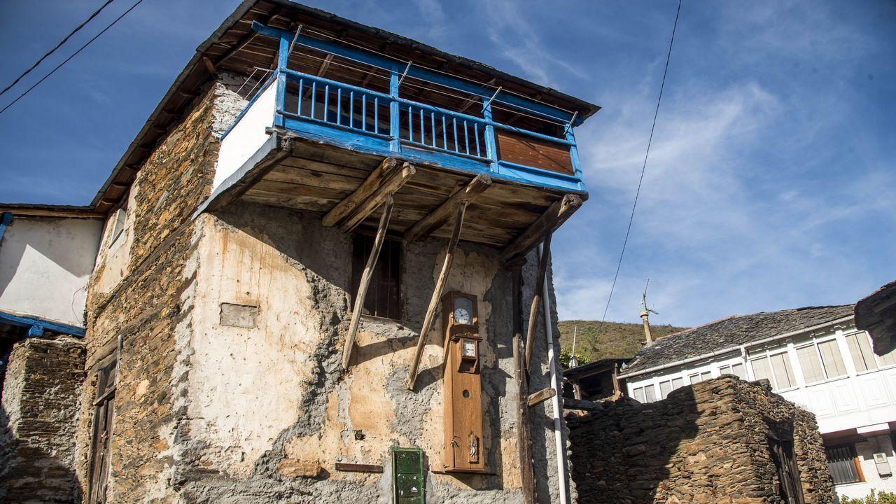 Una construcción tradicional en Figueiredo