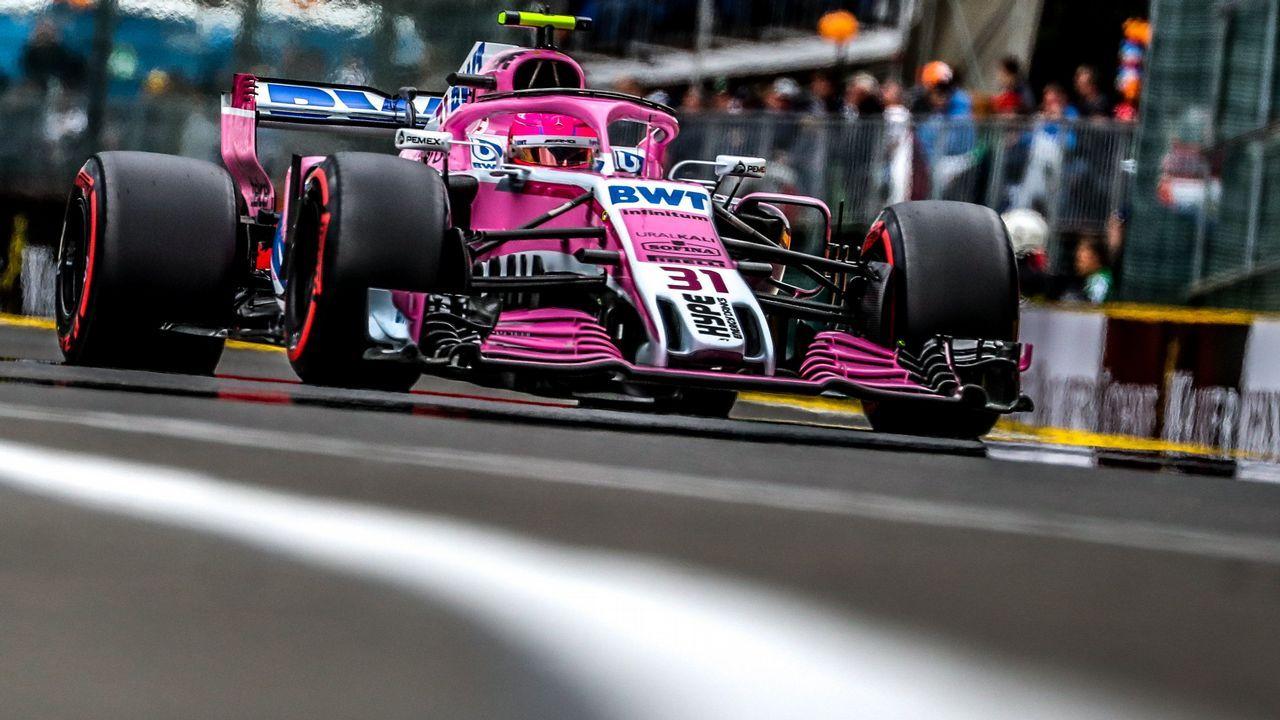 El público de Monza animó a Fernando Alonso