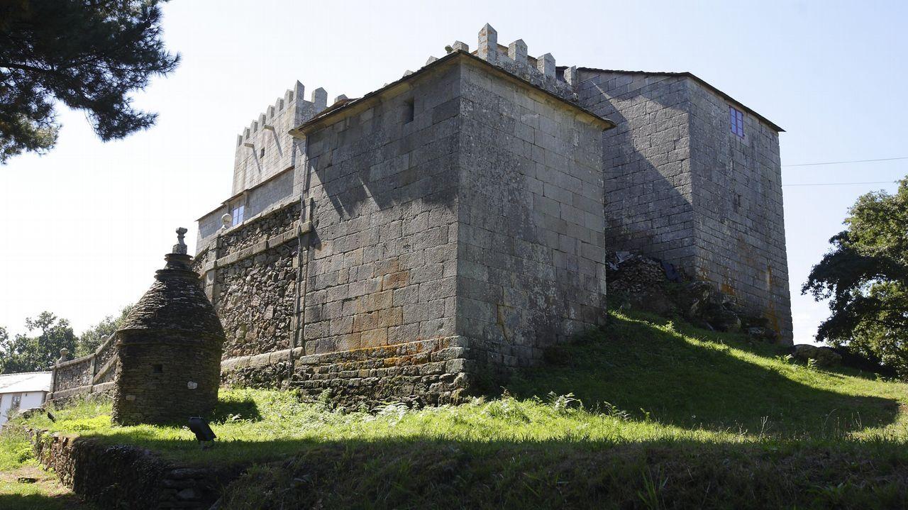 Castillo de San Paio de Narla, Friol.