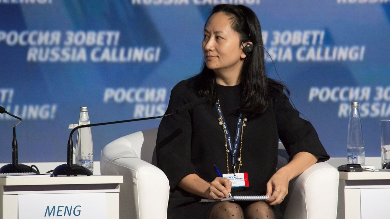 Meng Wanzhou es hija del fundador de Huawei