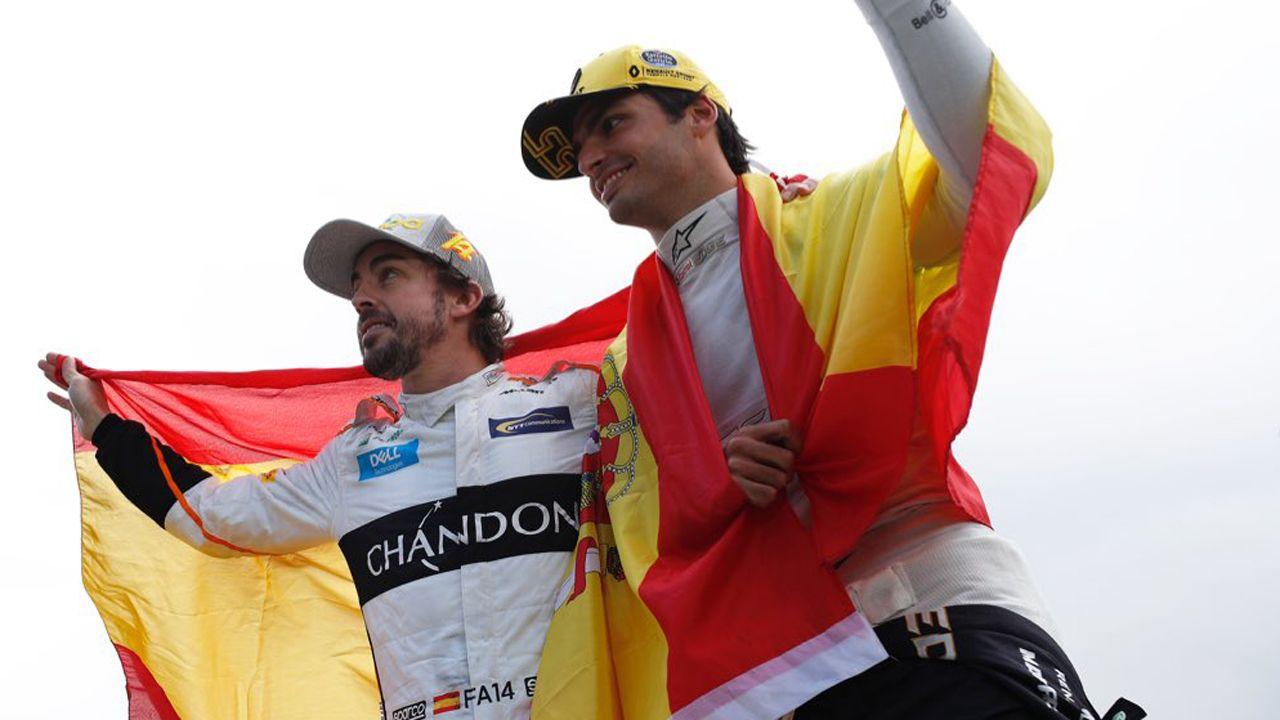 Los nuevos pedidos para la pesca.Fernando Alonso y Carlos Sainz